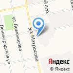 Ветеран-2 на карте Бийска