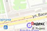 Схема проезда до компании Креатив в Бийске
