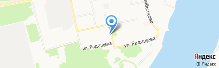Лайма на карте Бийска