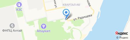 Родина на карте Бийска