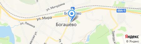 Нотариус Бреткина Э.В. на карте Богашёво