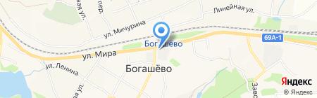Красота СМ на карте Богашёво