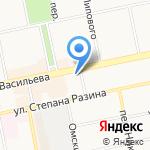 Альфа-банк на карте Бийска