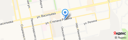 Натали на карте Бийска