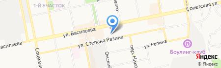 Стриж & К на карте Бийска