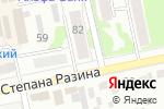 Схема проезда до компании Северянка в Бийске
