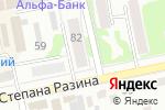 Схема проезда до компании Рыболов-Спортсмен в Бийске