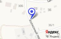 Схема проезда до компании МАГАЗИН ВАРИАНТ-СТРОЙ в Кожевниково