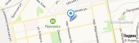 Детский сад №10 на карте Бийска
