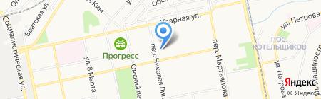 Детский сад №87 на карте Бийска