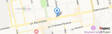 O`key на карте Бийска