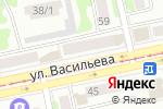 Схема проезда до компании Центр Ванн в Бийске