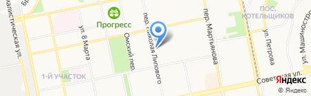 Банкомат Сбербанк России на карте Бийска