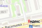 Схема проезда до компании Дамское счастье в Бийске