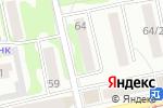 Схема проезда до компании Абсолют гарант в Бийске