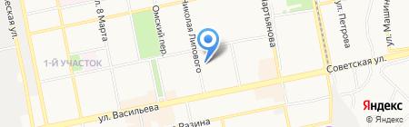 СГА на карте Бийска