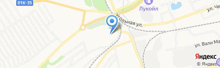 Автохобби на карте Бийска