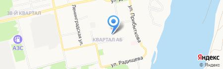 Дачная сотка на карте Бийска