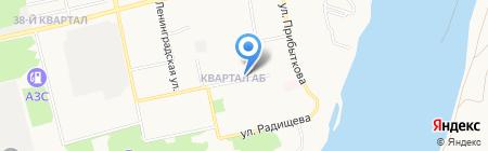 М-Строй на карте Бийска