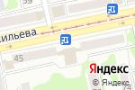 Схема проезда до компании Шторы от Кружевного бутика в Бийске