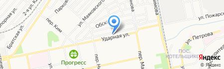 Промприбор плюс на карте Бийска