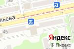 Схема проезда до компании е2е4 в Бийске