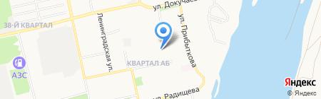 Детский сад №81 на карте Бийска