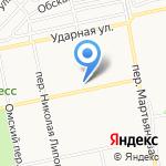 Детская городская поликлиника №2 на карте Бийска
