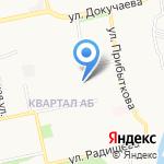 Центр развития ребенка-детский сад №81 на карте Бийска