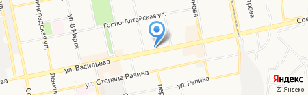 Бегемот на карте Бийска