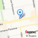 Бийский краеведческий музей им. В.В. Бианки на карте Бийска