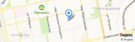 Автомаш на карте Бийска