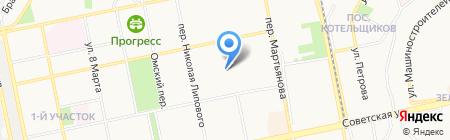 ОПС на карте Бийска