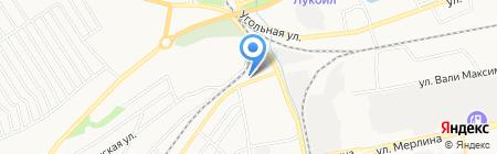 Авторазбор на Севастопольской на карте Бийска