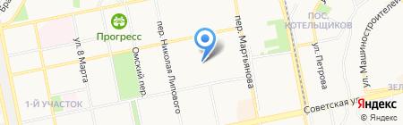 РЭУ №6 на карте Бийска