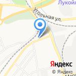 Центр авторазбора на карте Бийска