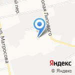 Ригель-Бийск на карте Бийска
