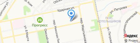 ИФНС на карте Бийска