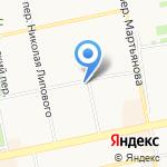 Корзинка Сударь-11 на карте Бийска