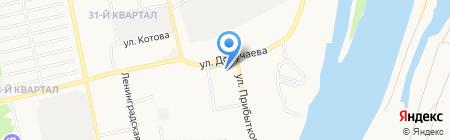 Детский сад №21 на карте Бийска
