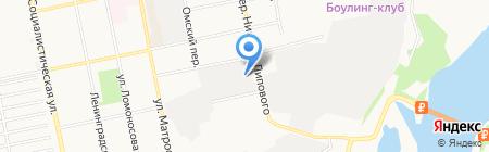 Многопрофильная компания на карте Бийска