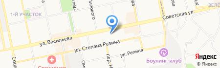 Виктория на карте Бийска