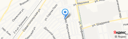 Корзинка Михайловых-1 на карте Бийска