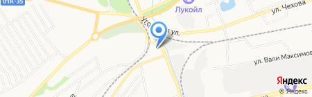 АЗС на карте Бийска
