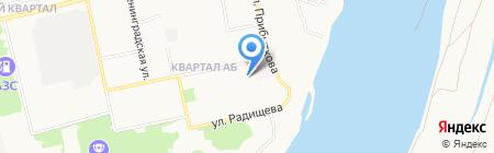 Аптека №263 на карте Бийска