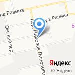 Видеоприцел на карте Бийска