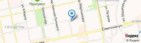Bowe на карте Бийска