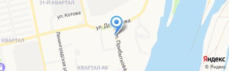 Магазин-бар на карте Бийска