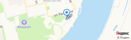 РаДен на карте Бийска