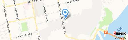 Лукойл на карте Бийска